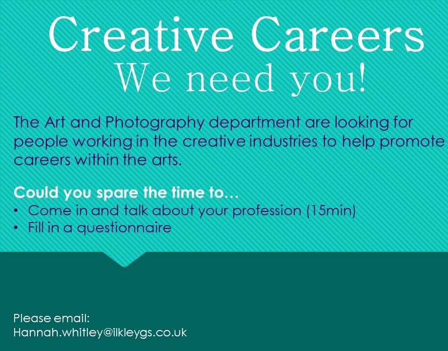 Creative careers promotion
